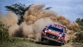 WRC, Rally Safari: Neuville chiude in testa la prima tappa
