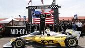 IndyCar: prima vittoria 2021 di Newgarden a Mid-Ohio
