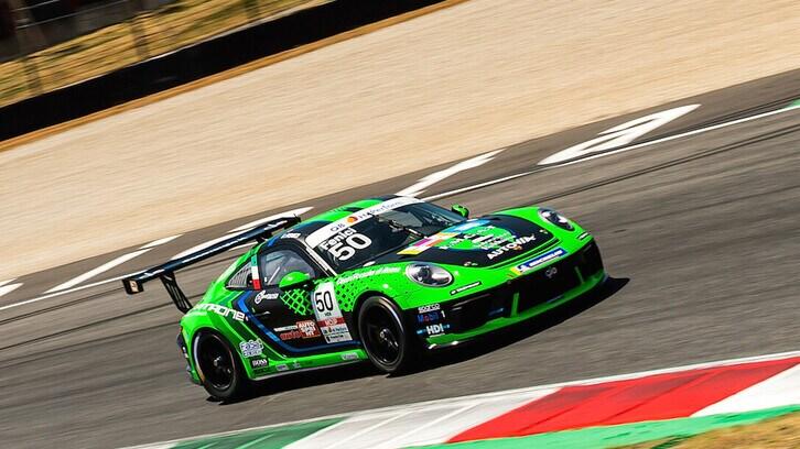Missione compiuta per Fenici al Mugello in Carrera Cup Italia