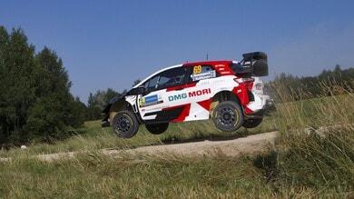 WRC, Rally Estonia:Kalle Rovanpera spicca nello shakedown
