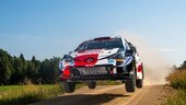 WRC, Rovanpera leader in Estonia