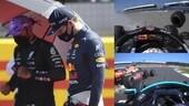 F1, GP Gran Bretagna: l'incidente al via tra Verstappen e Hamilton