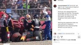 """Verstappen, duro sfogo contro Hamilton: """"Scorretto, irrispettoso e pericoloso"""""""