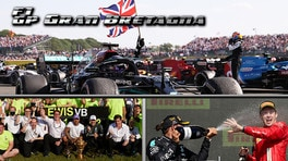 GP Gran Bretagna:dal k.o. di Verstappen a Hamilton 8° Re d'Inghilterra, Leclerc fa sognare i tifosi e la Ferrari