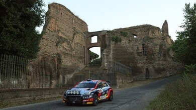 Rally Roma Capitale 2021, Crugnola precede Basso
