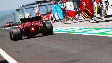 Ferrari, cambio Power unit per Sainz: rottura del coprifuoco ma senza penalità