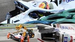 GP Ungheria, Mick Schumacher: che botto nelle FP3