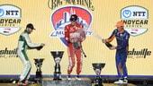 IndyCar: Ericsson dal crash alla vittoria a Nashville