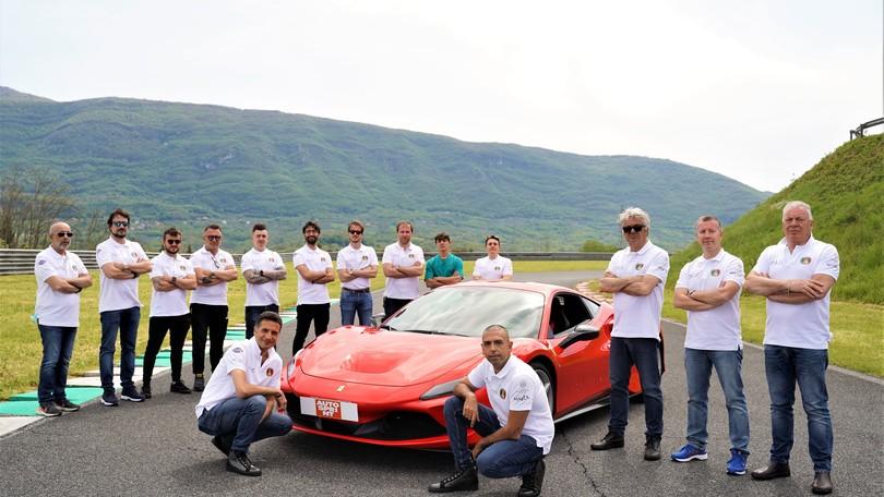 Da Roma a Capo Nord, in Ferrari, in meno di 49 ore: caccia al record LIVE