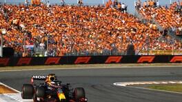 GP Olanda: super Verstappen che tripudio in casa davanti le Mercedes, Leclerc 5°