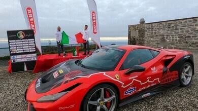 Da Roma a Capo Nord in Ferrari, vinta in 45 ore la sfida da record