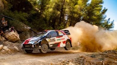 WRC, Rally Acropolis: Rovanpera balza al comando in Grecia