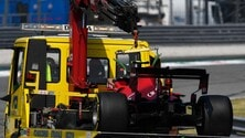 GP Italia, FP2: Sainz a muro all'Ascari