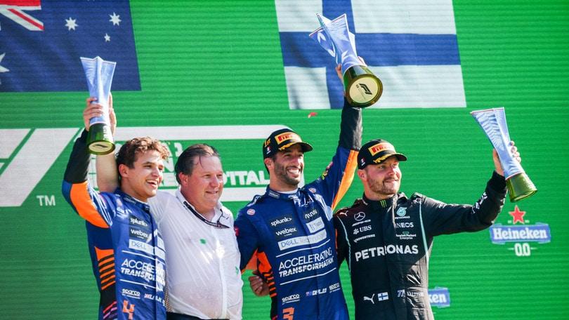F1 Monza: Ricciardo, McLaren e il ritorno alla vittoria