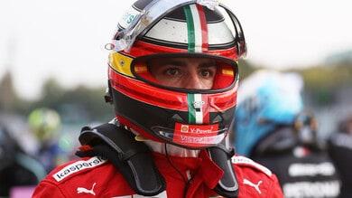 """Sainz assicura: """"Non farò più errori"""". E sul botto tra Hamilton e Verstappen..."""