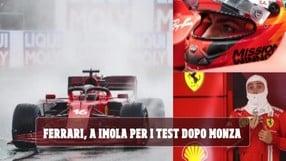 Ferrari in pista dopo il GP d'Italia: Leclerc e Sainz scatenati a Imola con la SF71H