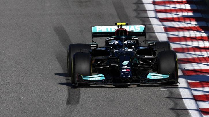 GP Russia, colpo di scena Mercedes: nuovi elementi sulla Pu, Bottas partirà 17°