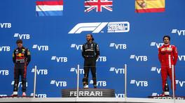 GP Russia: gara pazzesca a Sochi, Hamilton vince e fa 100! Super Max è 2°