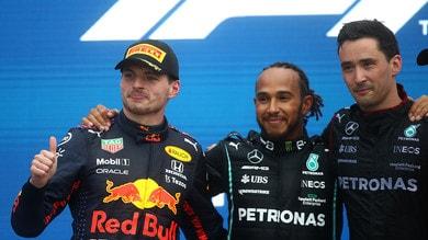 F1, classifica piloti: Hamilton allunga su Verstappen con le 100 vittorie nel GP a Sochi