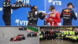 GP Russia: Hamilton quota 100, rimonta Super Max, Leclerc solo lacrime a Sochi