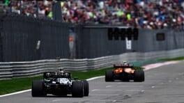 """GP Russia, i team radio: Mercedes che chiamata, Leclerc gara f*****a, Norris """"capoccione"""""""