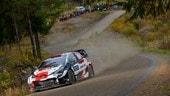 WRC, Rally di Finlandia: Evans chiude in testa la seconda tappa