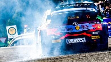 WRC Rally Catalunya, Neuville chiude in testa la prima tappa