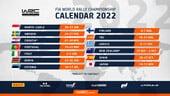 WRC, ecco il calendario ufficiale del Mondiale 2022