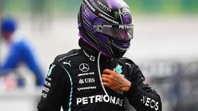 """GP Usa, Hamilton: """"Gran lavoro di Max e del mio team"""""""