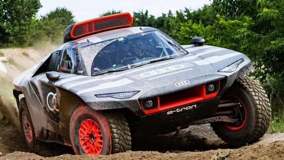 Audi RS Q e-tron, la sfida elettrica alla Dakar dei Quatto Anelli