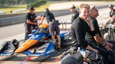 Hulkenberg a scuola di Indycar: un volante esagerato